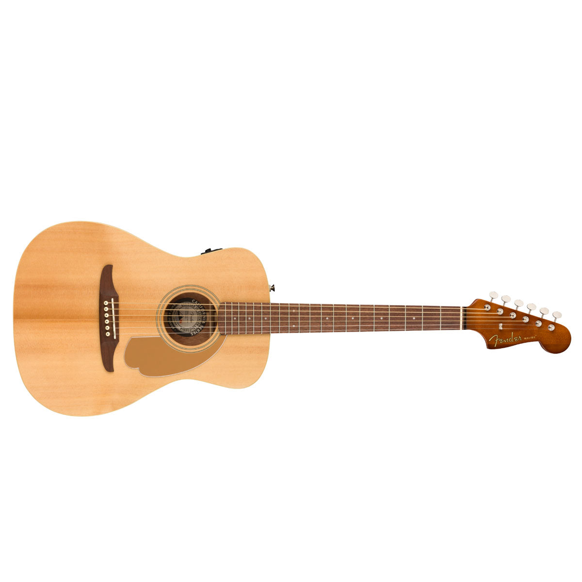 Fender California Malibu Player Acoustic Guitar Natural - 0970722021