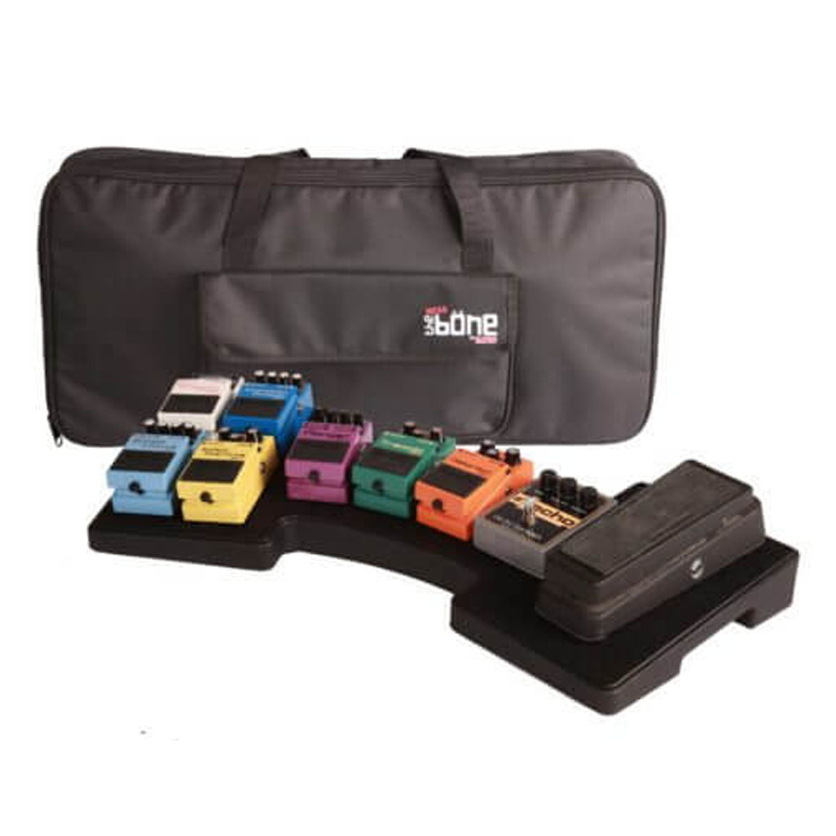 Gator G-MEGA-BONE Molded Mega Bone Pedal Board & Carry Case