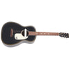 Gretsch G9520E Gin Rickey Acoustic Guitar Smokestack Black w/ Soundhole Pickup - 2705000506