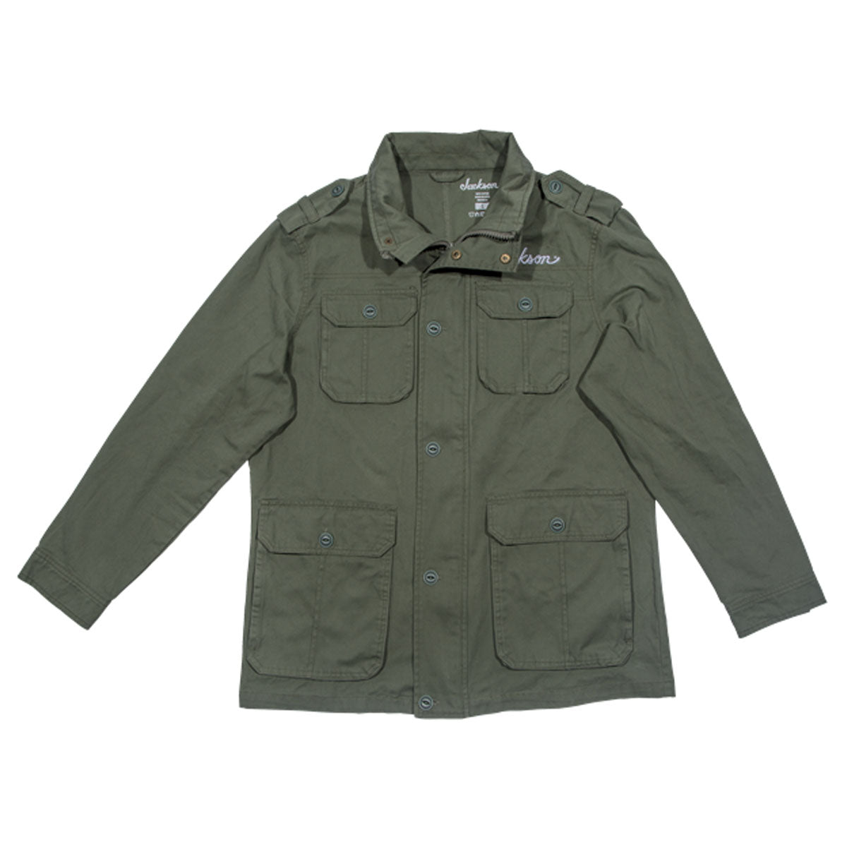 Jackson Army Jacket, Green, L Large - 2992769606