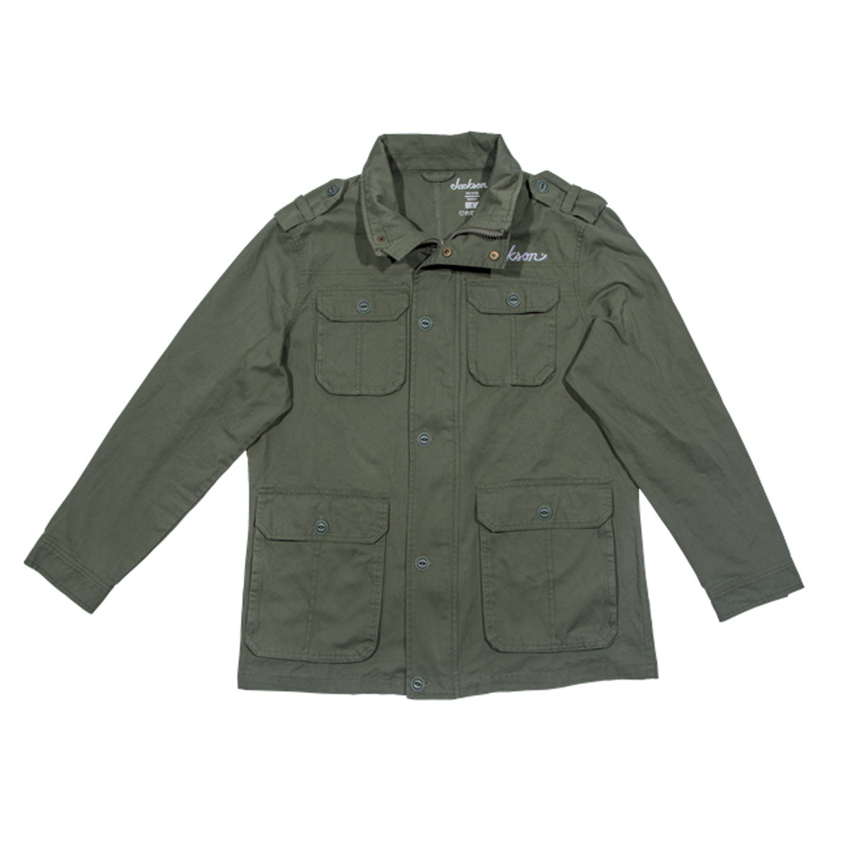 Jackson Army Jacket, Green, M Medium - 2992769506