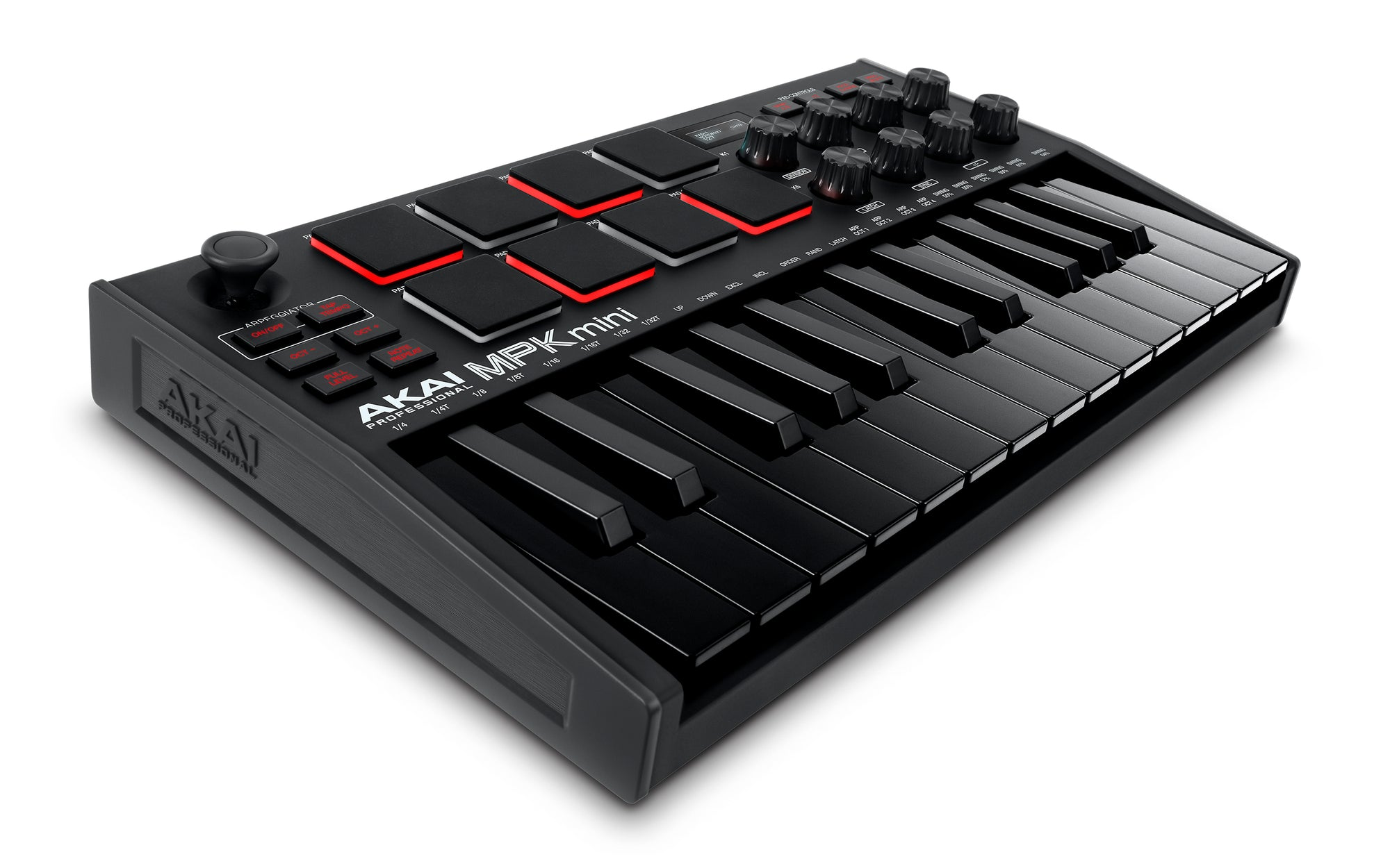 Akai MPK Mini Mk3 Black Portable Key & Pad USB MIDI Controller