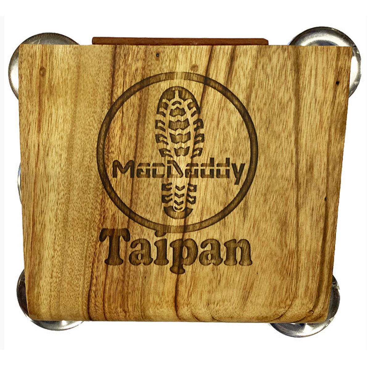 Macdaddy MDT1 Taipan Stomp Box Natural - Handmade in Australia