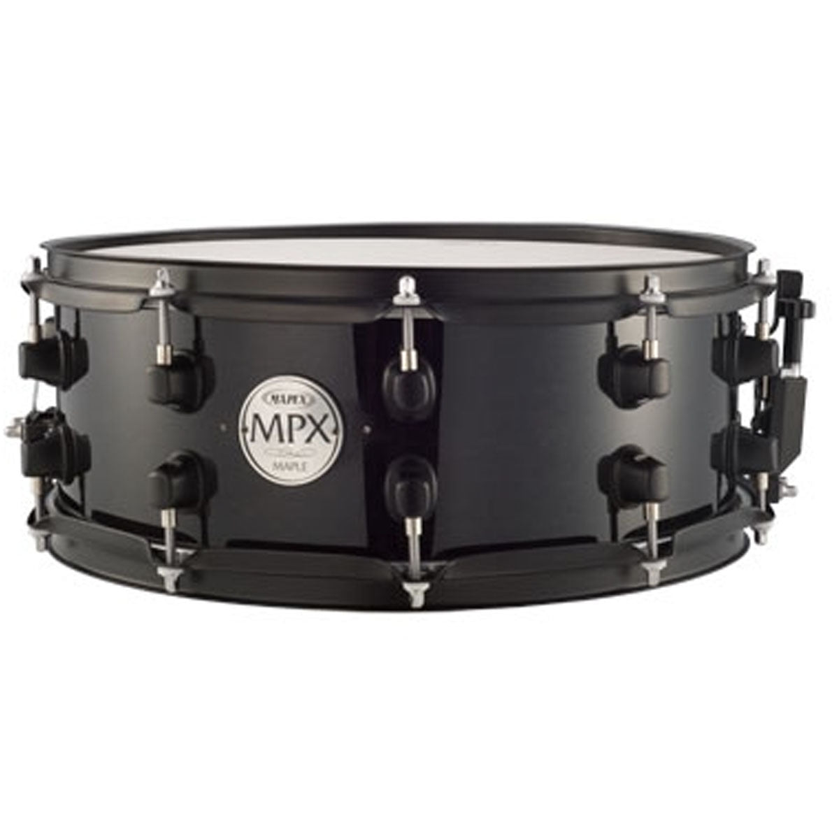 Mapex MPX Snare Drum Maple 14x5.5inch Midnight Black w/ Black Hardware