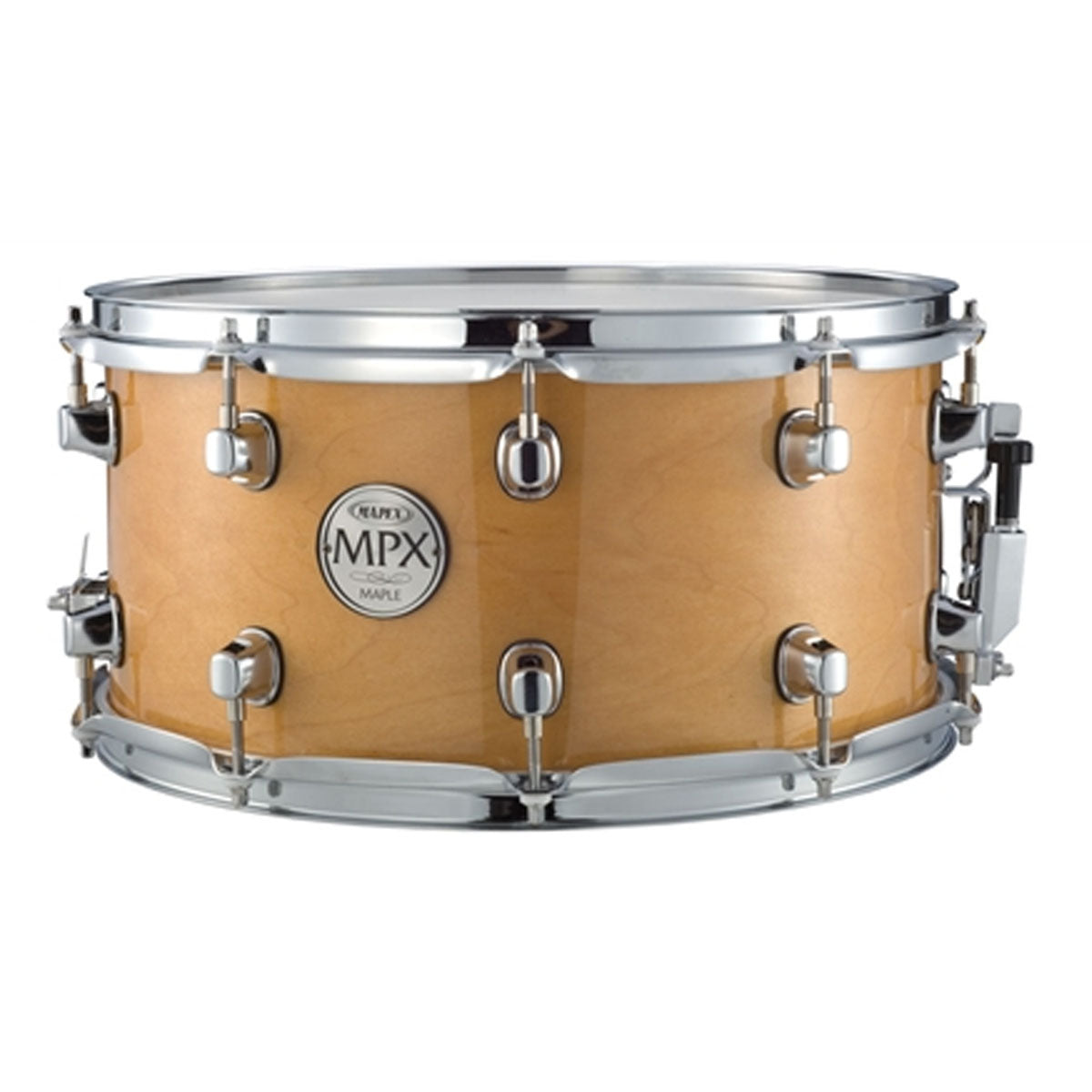 Mapex MPX Snare Drum Maple 14x7inch Gloss Natural w/ Chrome Hardware