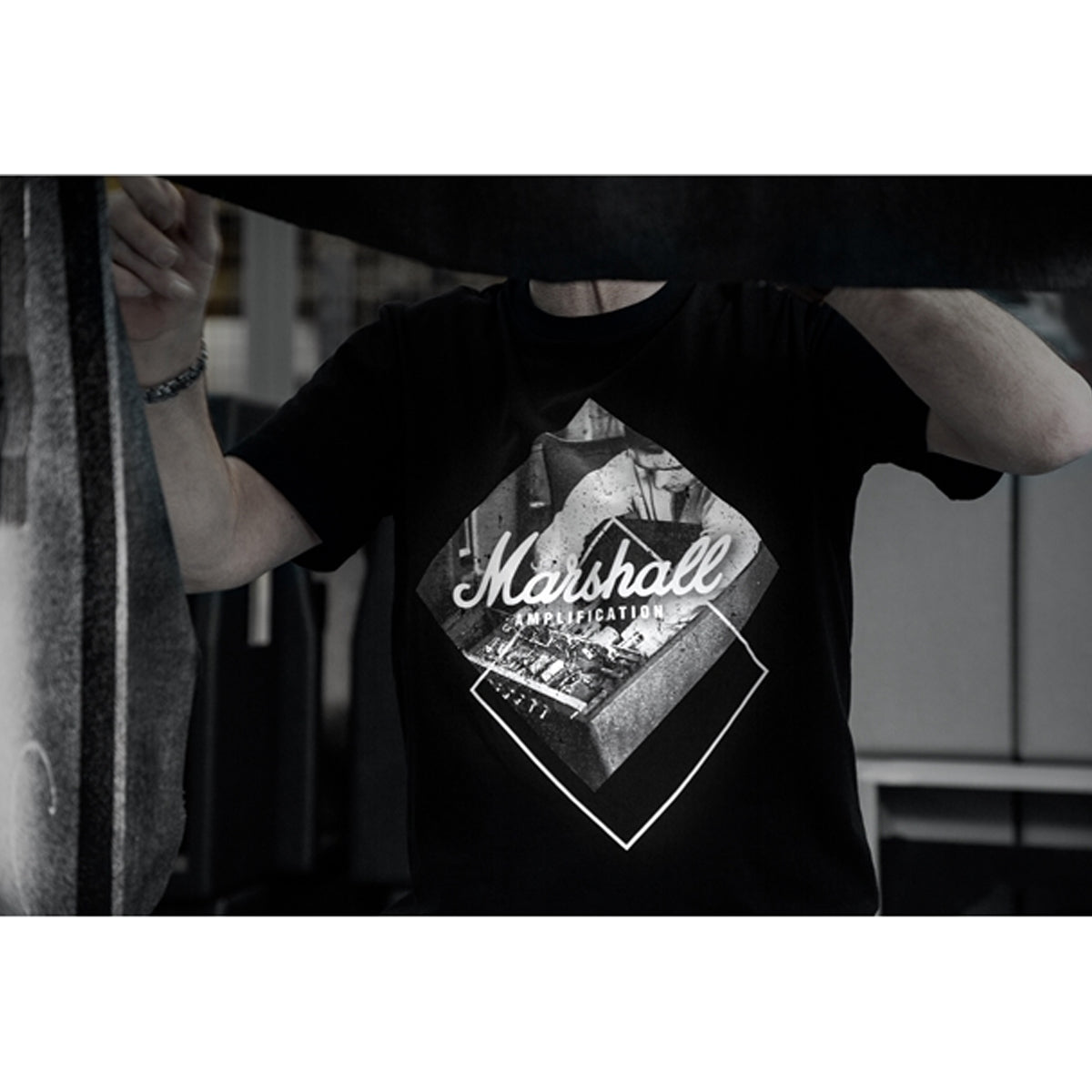 Marshall SHRT-00514: Handwired T Shirt, Medium