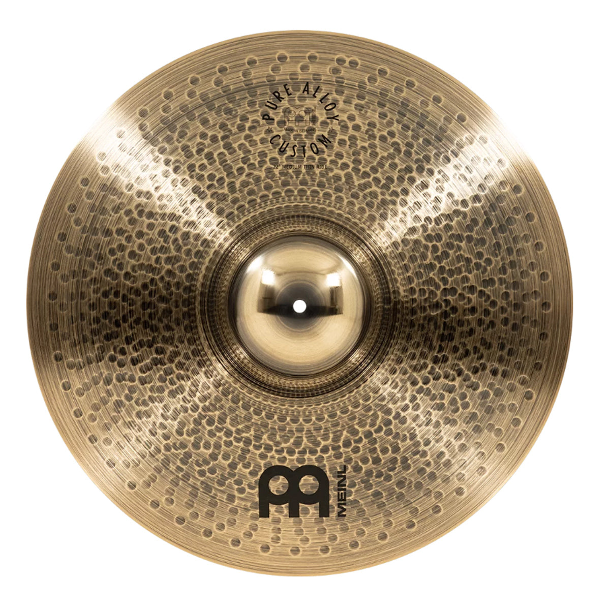 Meinl 22MTR Pure Alloy Custom 22inch Medium Thin Ride Cymbal