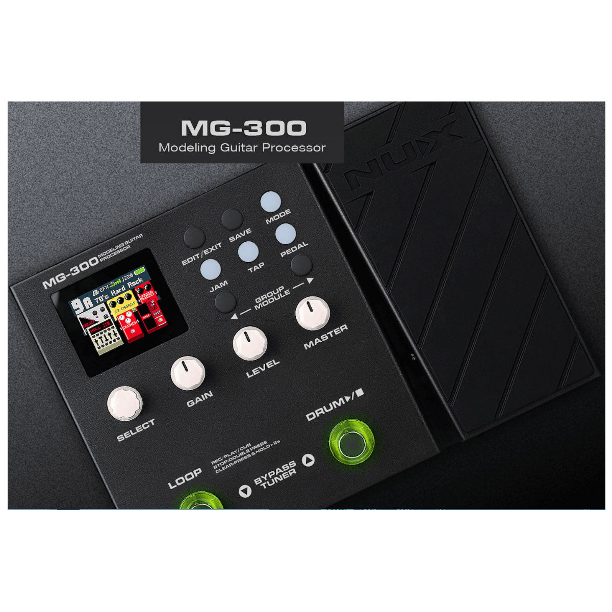 NU-X MG-300 Guitar Modelling Processor Effects