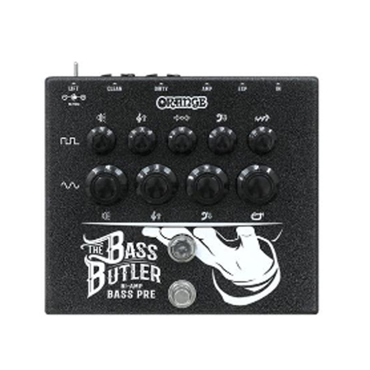 Orange Bass Butler Bi Amp Bass Pre Amp Pedal