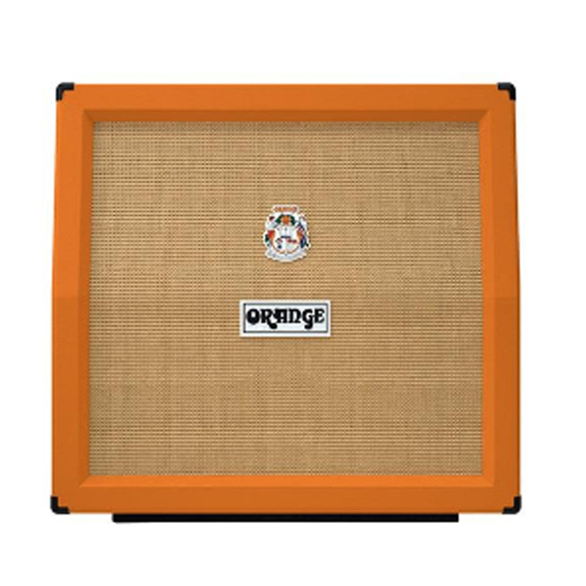 Orange PPC412AD Guitar Cabinet Angled 4x12inch Speaker Cab - Black