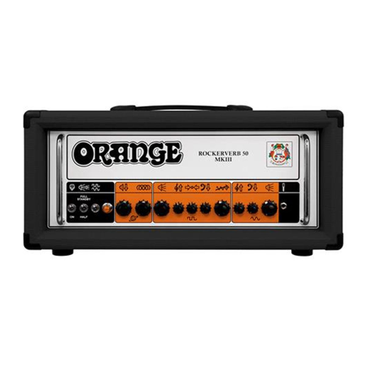 Orange Rockerverb 50H MKIII Guitar Amplifier 50w Head Amp - Black