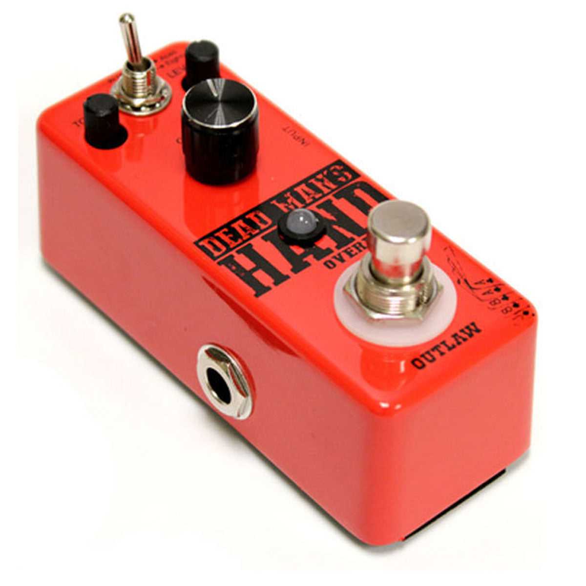 Outlaw Effects Dead Man's Hand Dual Mode Overdrive Pedal