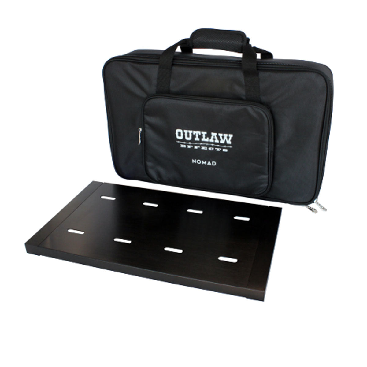 Outlaw Effects Nomad Rechargeable Pedalboard Powered Pedal Board Medium