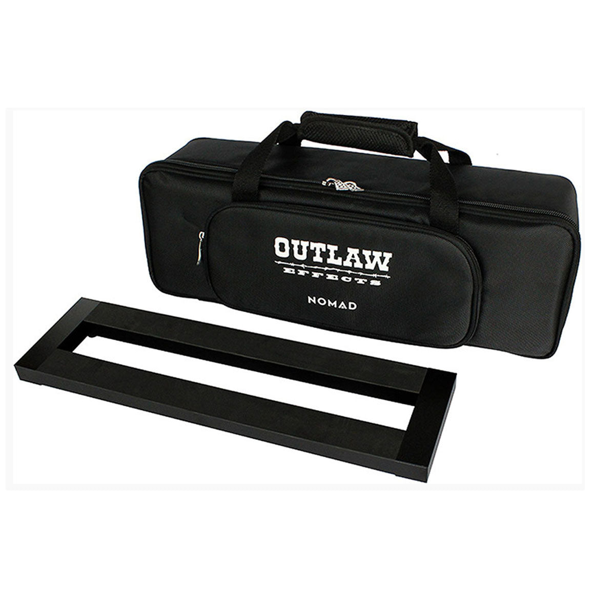Outlaw Effects Nomad Rechargeable Pedalboard Powered Pedal Board Small