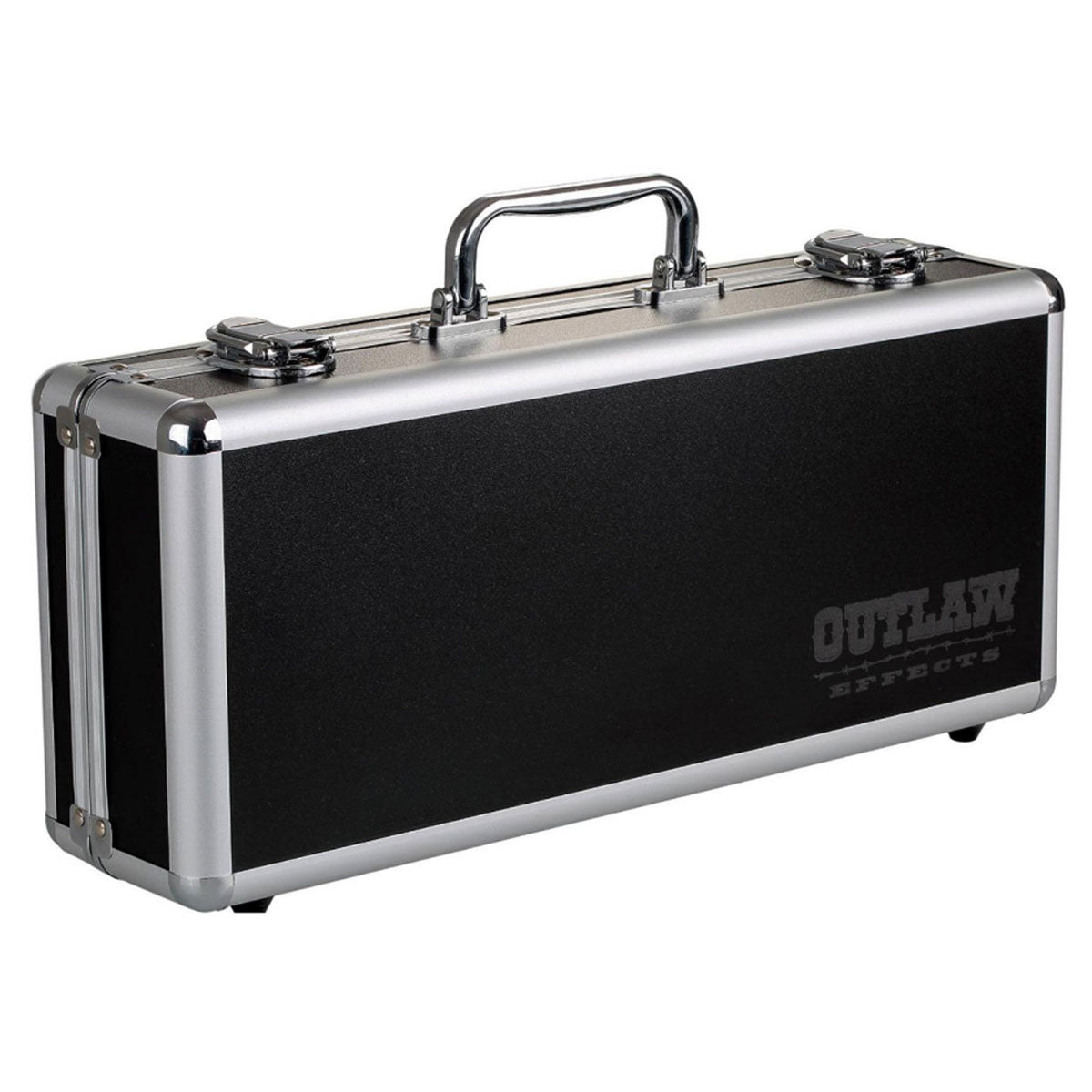 Outlaw Effects PedalBoard Pedal Case w/ Adaptor & Lead