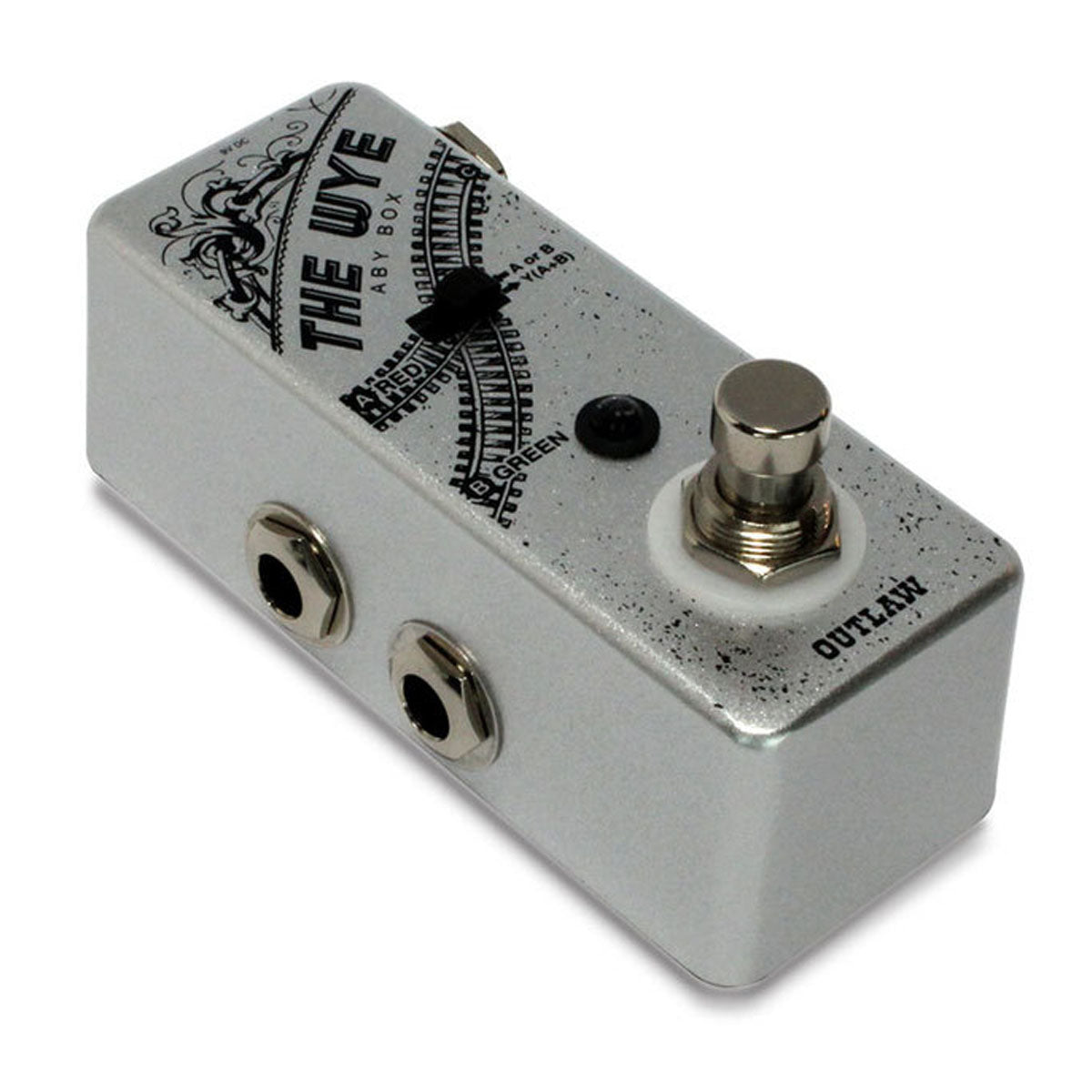 Outlaw Effects The Wye ABY Box Pedal
