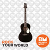 PRS Paul Reed Smith SE P20E Tonare Acoustic Guitar Parlor Black Top w/ Pickup