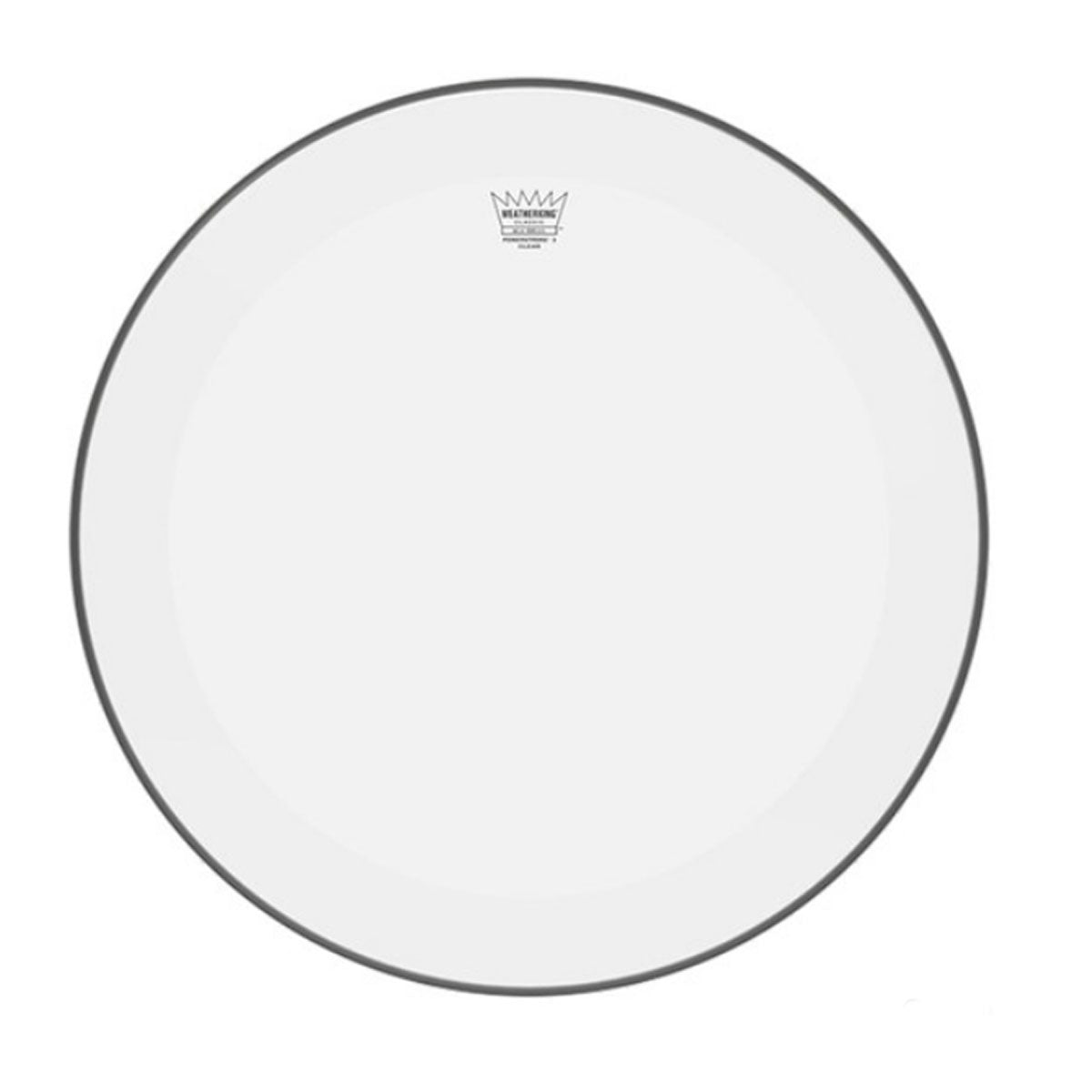 "Remo P3-1316-C2 Powerstroke P3 Clear Bass Drumhead, 16"" w/ Falam Patch"