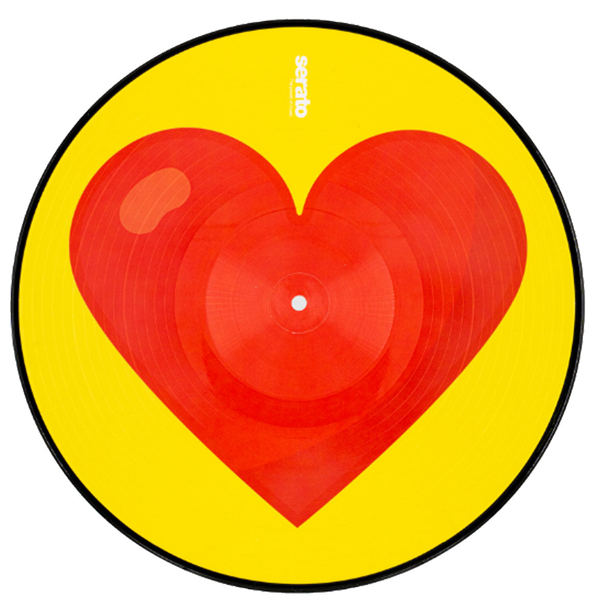 Serato Control Vinyl 2x12inch Reversible Emoji (two designs per set) Series 3 Donut/Heart