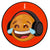 Serato Control Vinyl 2x12inch Reversible Emoji (two designs per set) Series 4 Thinking/Crying