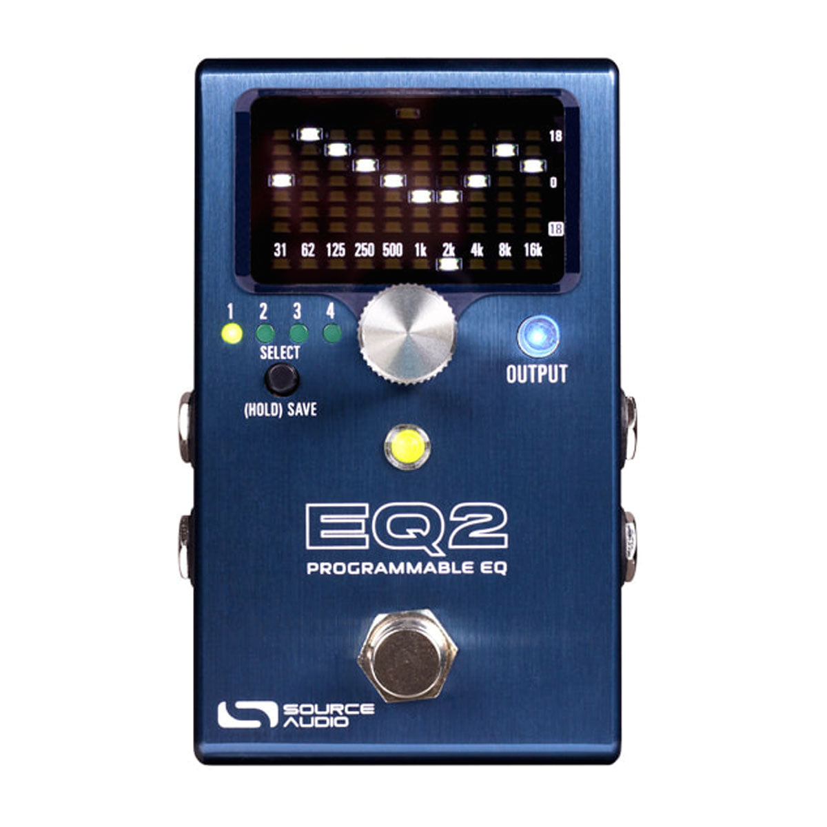 Source Audio EQ2 Programmable Equalizer Effects Pedal