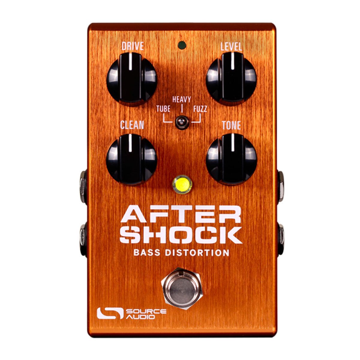 Source Audio One Series AfterShock Bass Distortion Effects Pedal