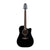Takamine EF341SC Legacy Series Acoustic Guitar Dreadnought Black w/ Pickup