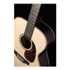 Takamine EF7MLS Acoustic Guitar Orchestral Natural w/ Pickup