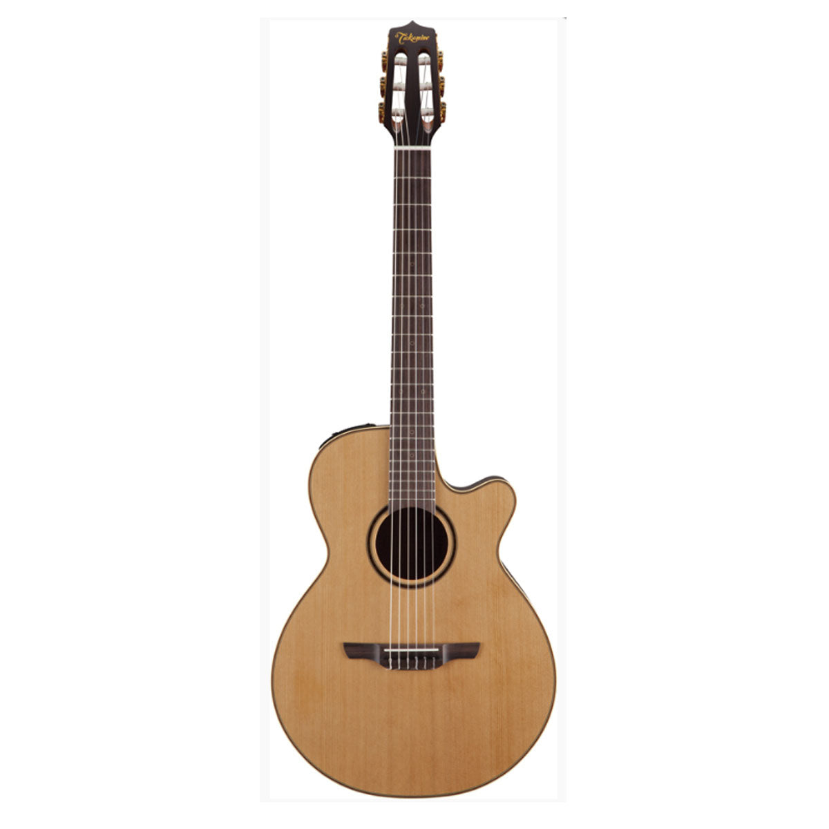 Takamine P3FCN Pro Series 3 Classical Guitar FCN Nylon String Natural w/ Pickup