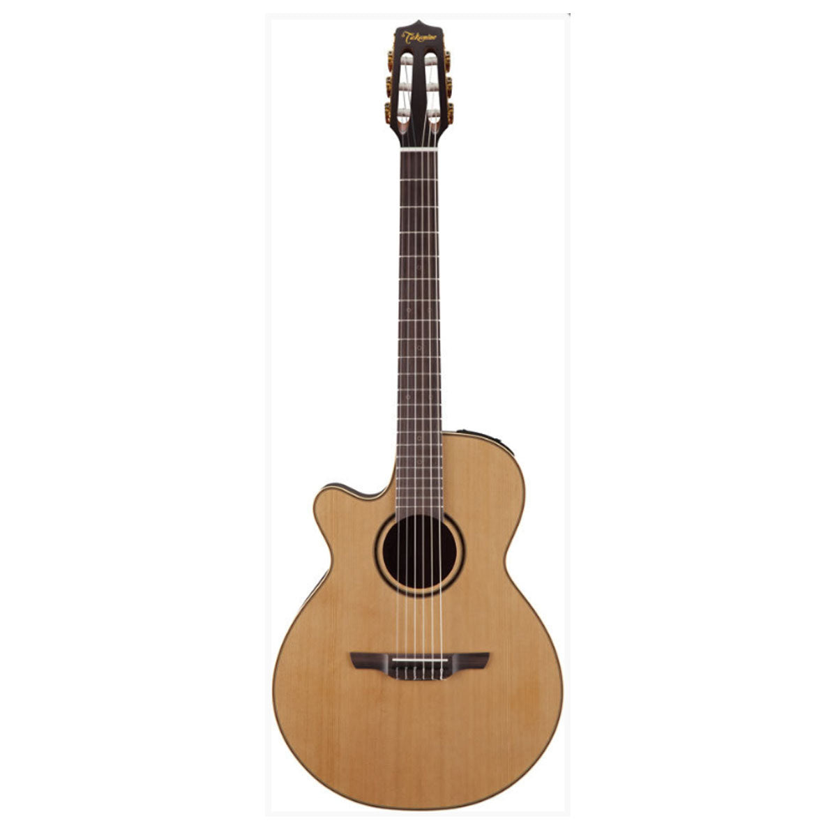 Takamine P3FCN Pro Series 3 Classical Guitar Left Handed FCN Nylon String Natural w/ Pickup