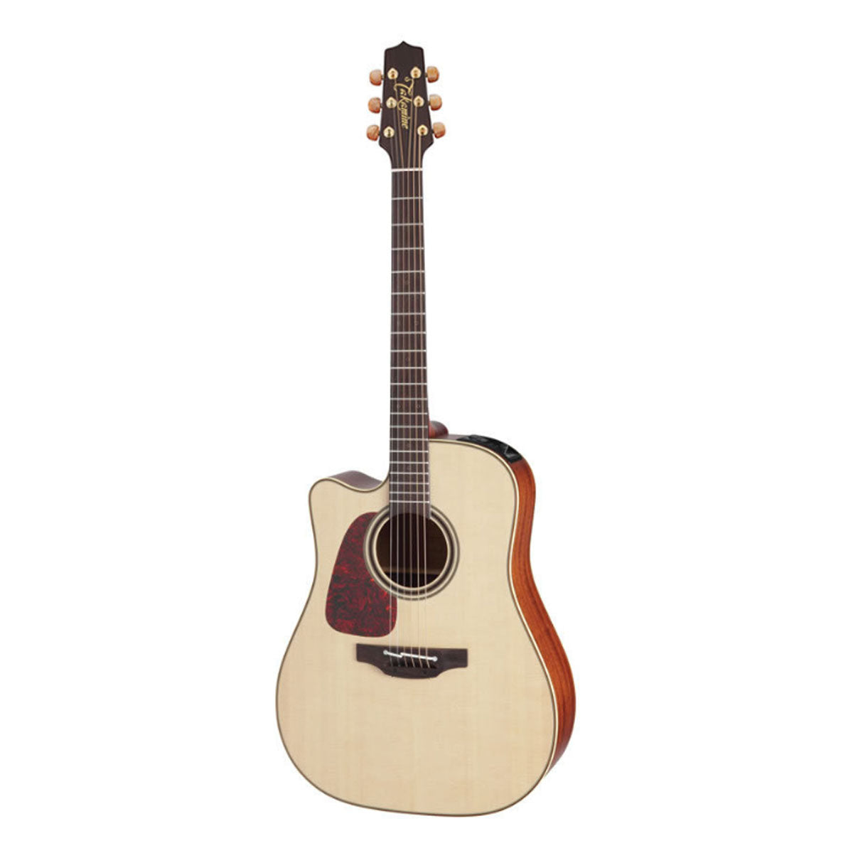 Takamine P4DC Pro Series 4 Acoustic Guitar Left Handed Dreadnought Natural w/ Pickup