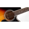 Takamine P6JC-BSB Pro Series 6 Acoustic Guitar Jumbo Brown Sunburst w/ Pickup