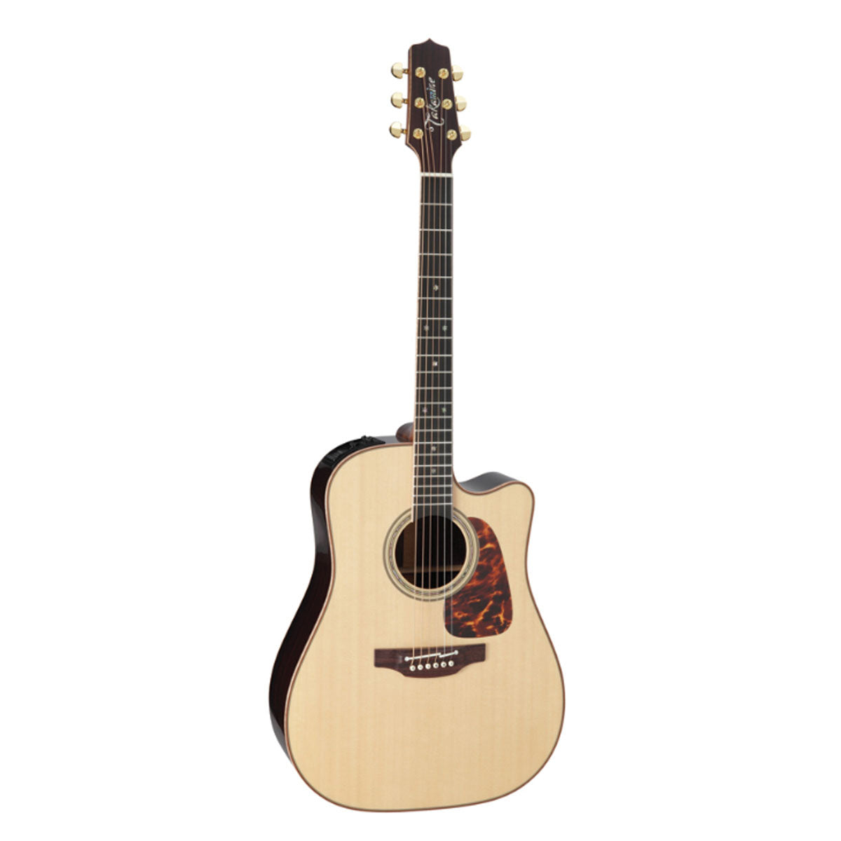 Takamine P7DC Pro Series 7 Acoustic Guitar Dreadnought Natural w/ Pickup