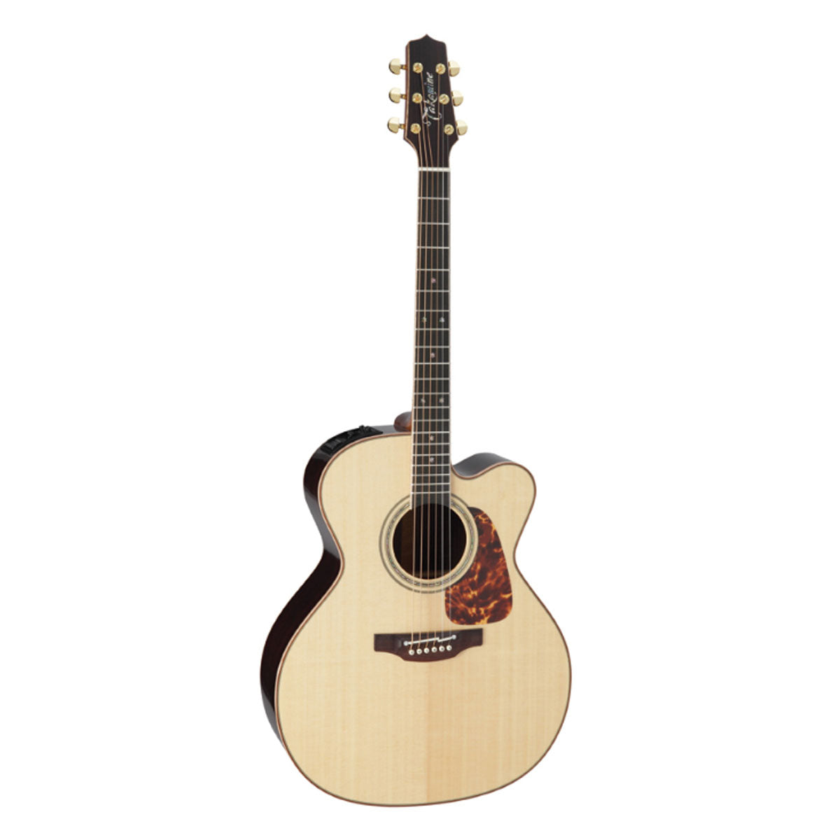 Takamine P7JC Pro Series 7 Acoustic Guitar Jumbo Natural w/ Pickup