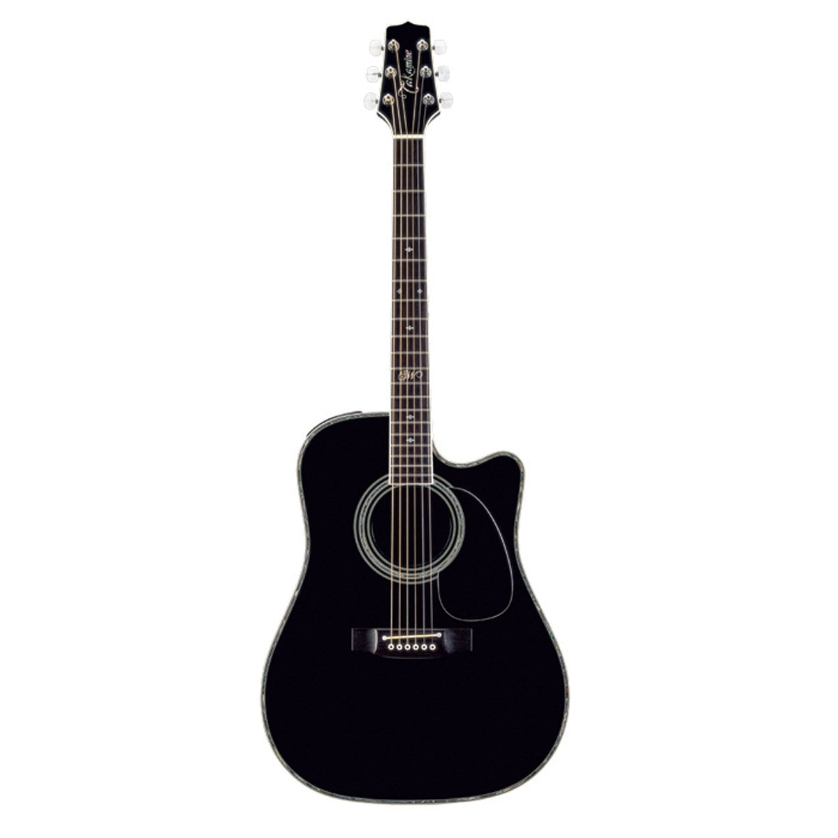 Takamine SW341SC Steve Wariner Signature Acoustic Guitar Dreadnought Black w/ Pickup