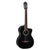 Takamine TCL132SC-BL Pro Series Classical Guitar Black w/ Pickup