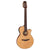 Takamine TSP148NC NS Thinline Classical Guitar Natural w/ Pickup