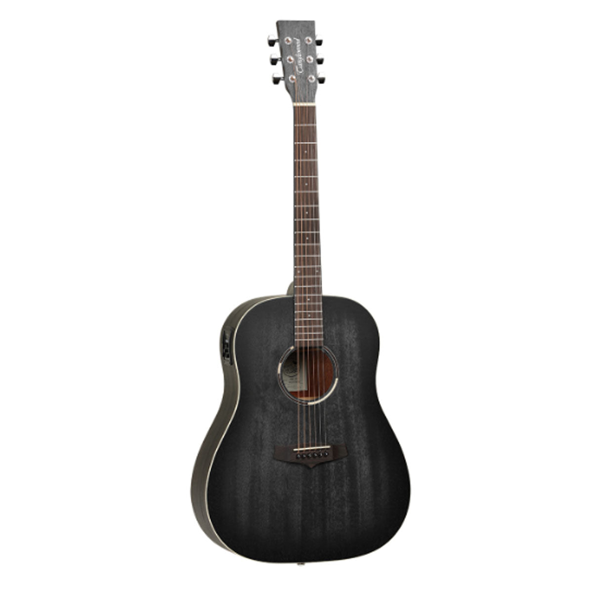 Tanglewood Blackbird Acoustic Guitar Sloped Shoulder Dreadnought Smokestack Satin w/ Pickup