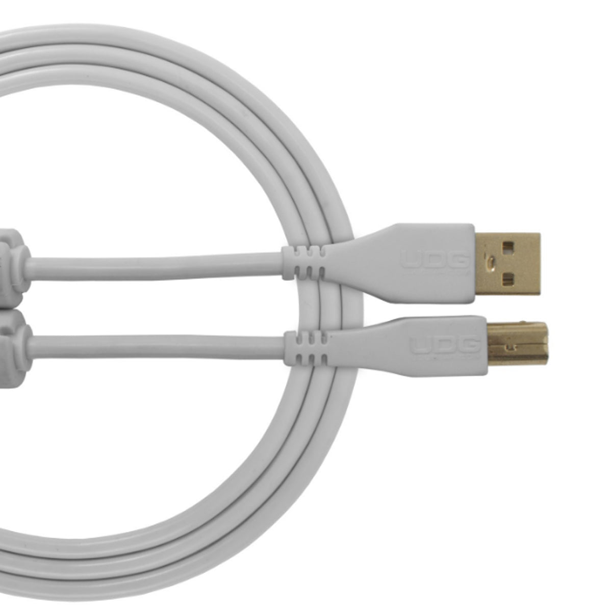 UDG Ultimate U95003 USB2 Cable A-B White Straight 3m