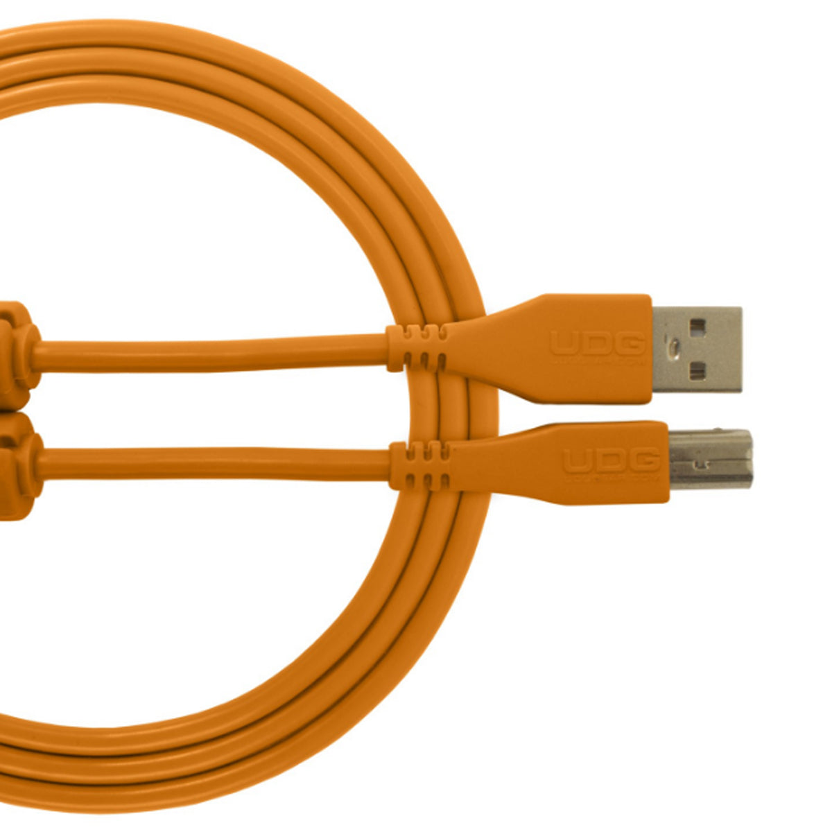 UDG Ultimate U95001 USB2 Cable A-B Orange Straight 1m