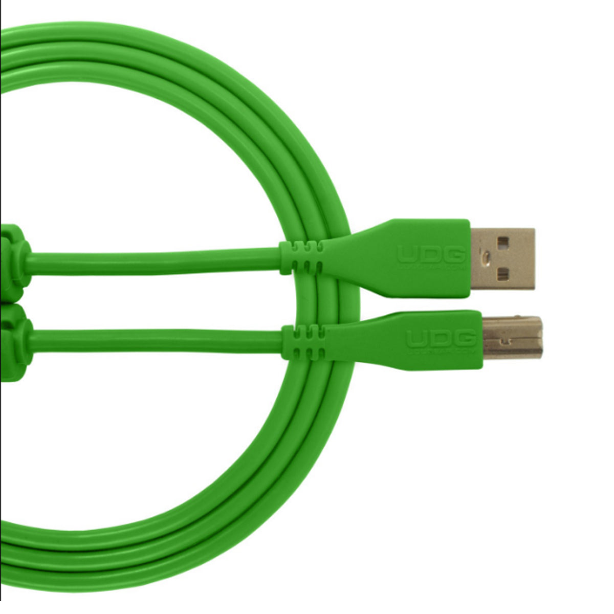 UDG Ultimate U95002 USB2 Cable A-B Green Straight 2m