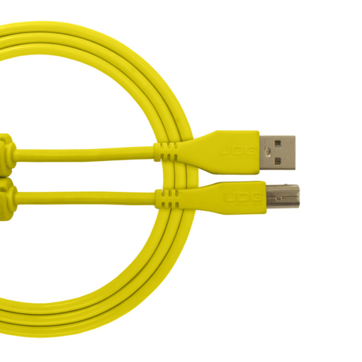 UDG Ultimate U95003 USB2 Cable A-B Yellow Straight 3m