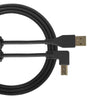 UDG Ultimate U95006 USB2 Cable A-B Black Angled 3m