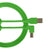 UDG Ultimate U95006 USB2 Cable A-B Green Angled 3m