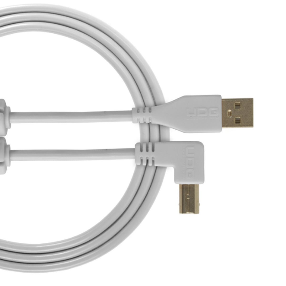 UDG Ultimate U95006 USB2 Cable A-B White Angled 3m