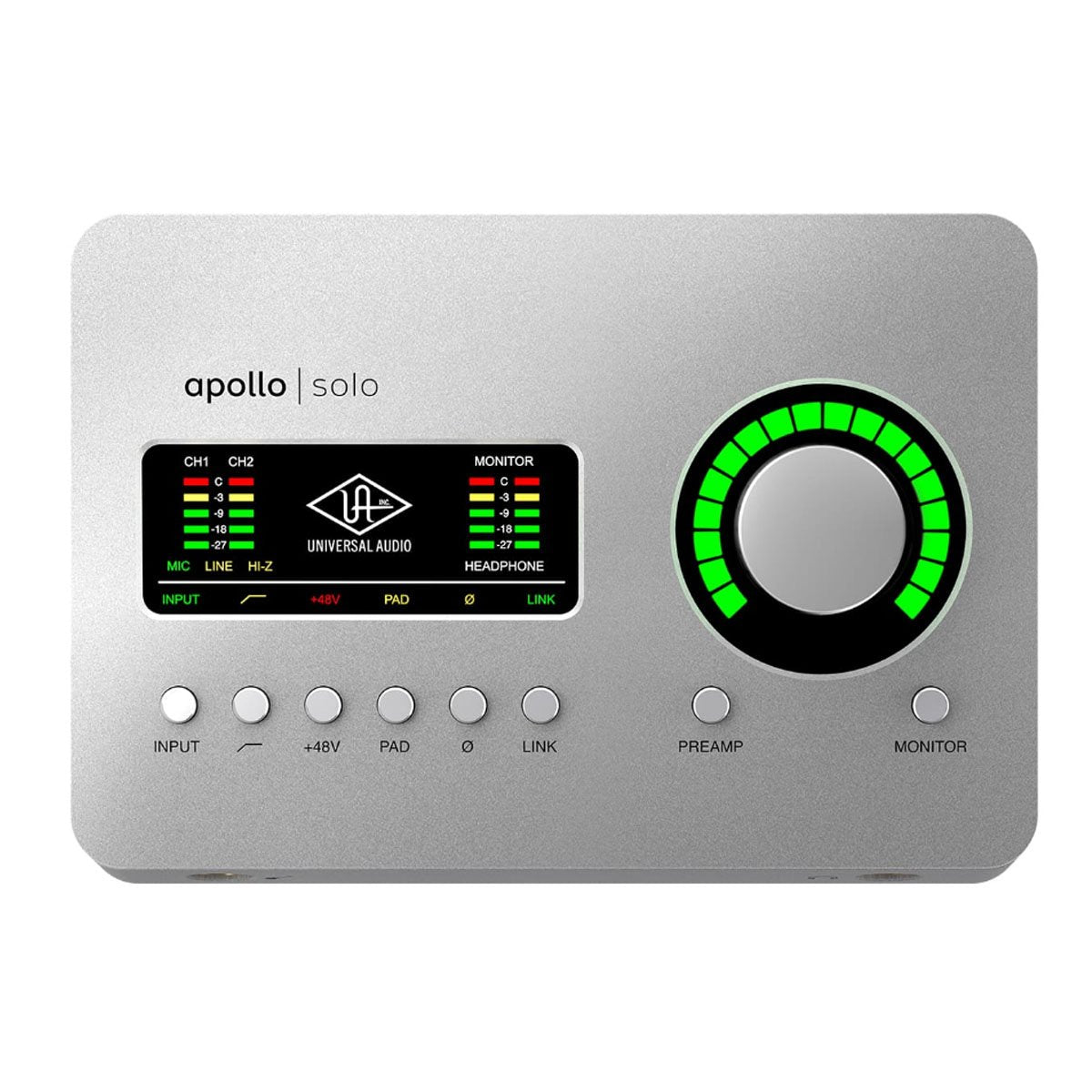 Universal Audio UA Apollo Solo Thunderbolt Audio Interface - Heritage Edition