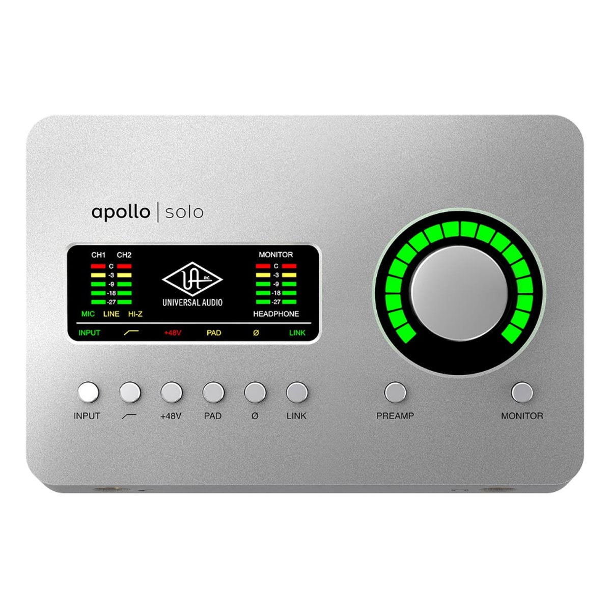 Universal Audio UA Apollo Solo USB Audio Interface - Heritage Edition