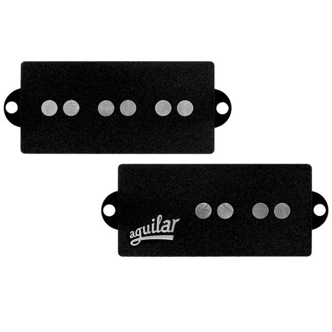 Aguilar Bass Guitar Pickups 60s Era 5-String P Bass Pickup Set - Narrow Spacing, Small Cover