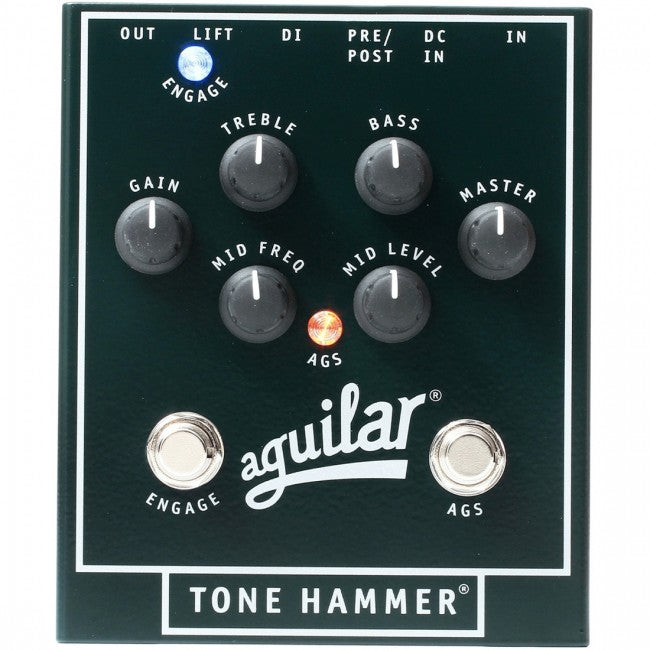Aguilar Tone Hammer Bass Preamp Pedal
