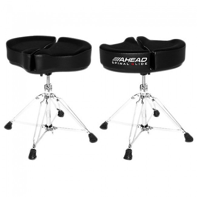 Ahead Spinal G-Saddle Black Ergo-kinetic Heavy Duty Drum Throne